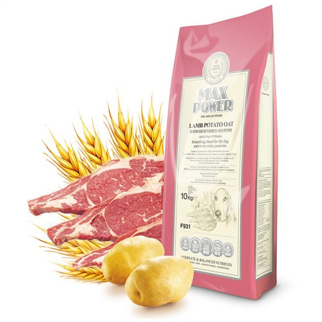 MaxPower Lamb Potato Oat Adult hạt khô