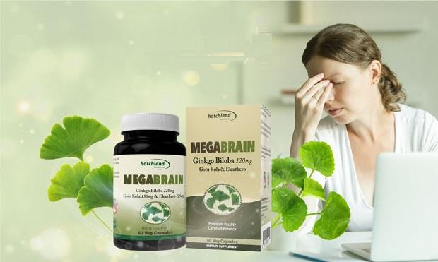 Viên uống MegaBrain chăm sóc sức khỏe hệ thần kinh hiệu quả