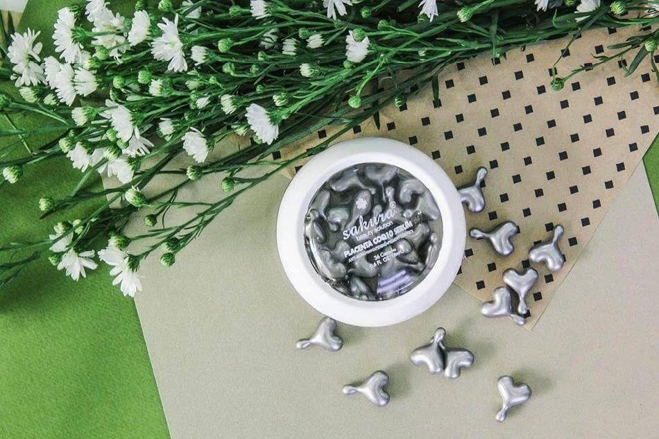 Serum Sakura Placenta CoQ10 dưỡng trắng và trẻ hóa da