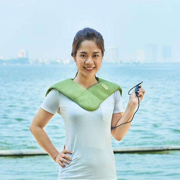 Túi chườm vai Hapaku CVD01 bảo vệ sức khỏe vùng vai gáy