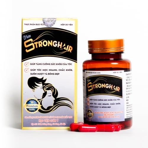 Viên uống Strong Hair hỗ trợ mọc tọc, giảm tóc bạc sớm