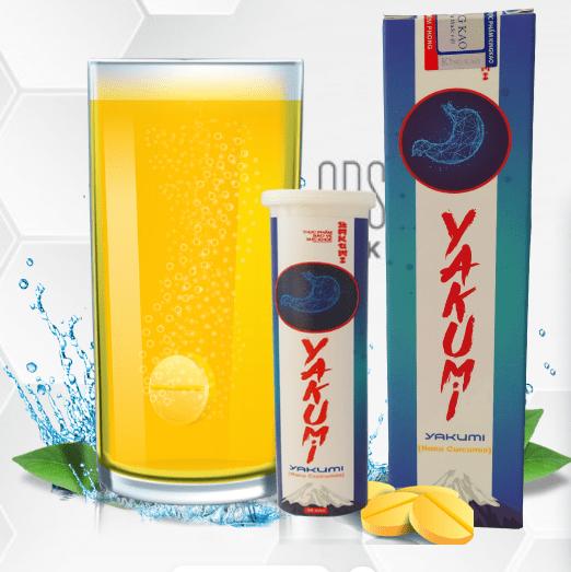 Viên sủi Yakumi bảo vệ sức khỏe dạ dày