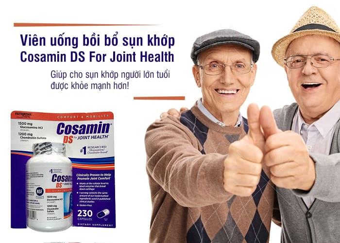 Viên uống hỗ trợ xương khớp cho Mỹ Cosamin DS For Joint Healh