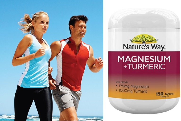 Nature's Way Magnesium + Turmeric chính hãng Úc