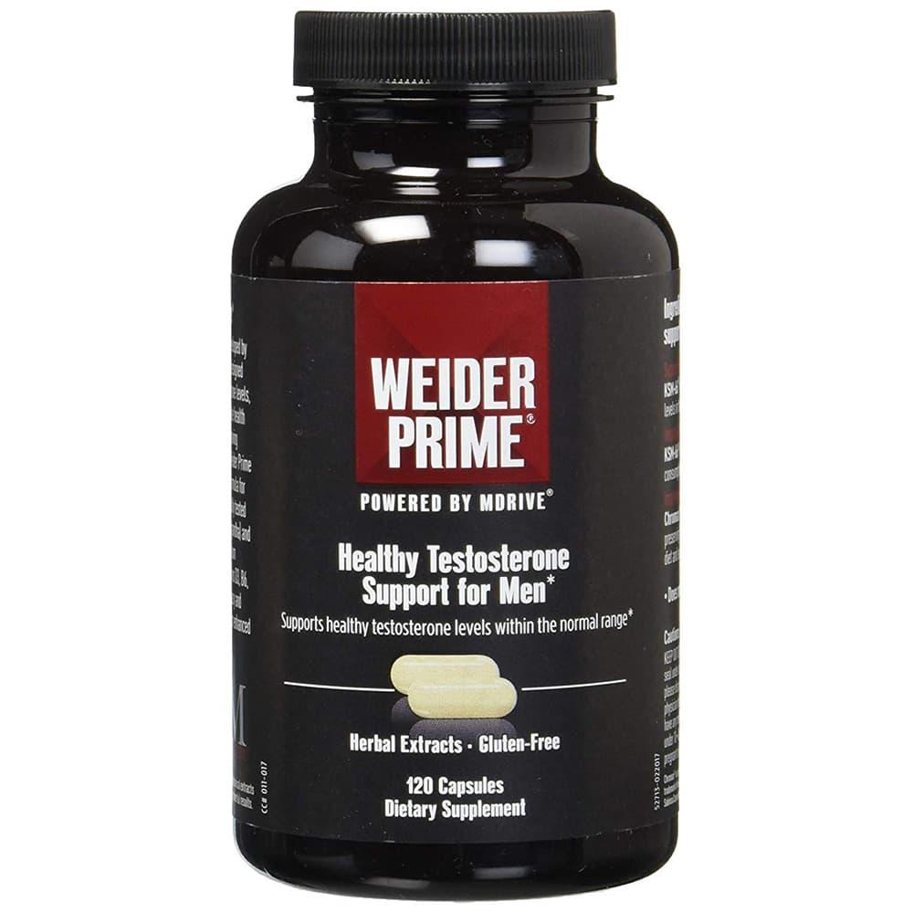 Viên uống Weider Prime Testosterone hỗ trợ sinh lý cho nam