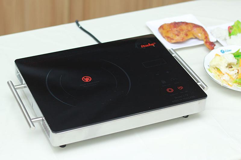 Bếp Iruka I-77 thiết kế thông minh, sử dụng tiện lợi