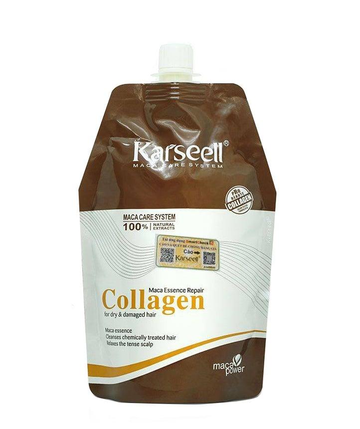Dầu hấp tóc Collagen Karseell Maca dưỡng tóc mềm mượt
