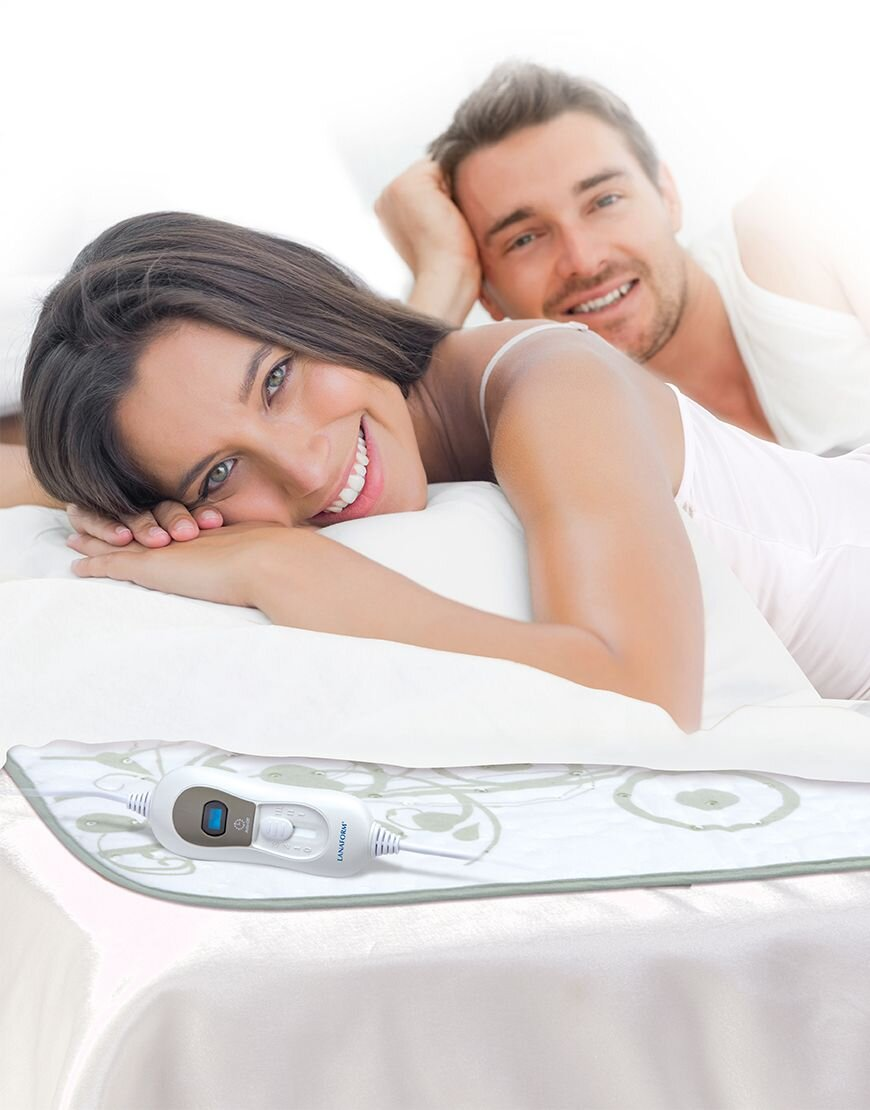 Đệm điện sưởi ấm Lanaform S1 hỗ trợ thư giãn cơ thể