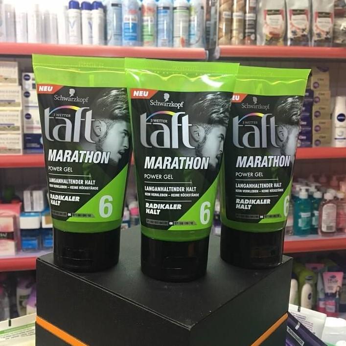 Gel Taft Marathon Power Gel chính hãng hàng Đức