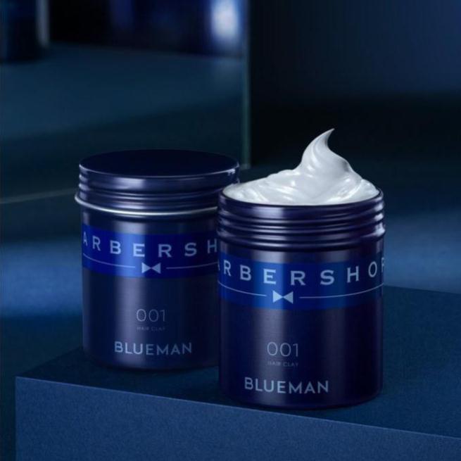 Wax tạo kiểu tóc nam Blueman 001 dưỡng mềm mại không cứng tóc