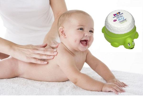 Kem dưỡng ẩm Hipp hỗ trợ cải thiện nứt nẻ cho bé
