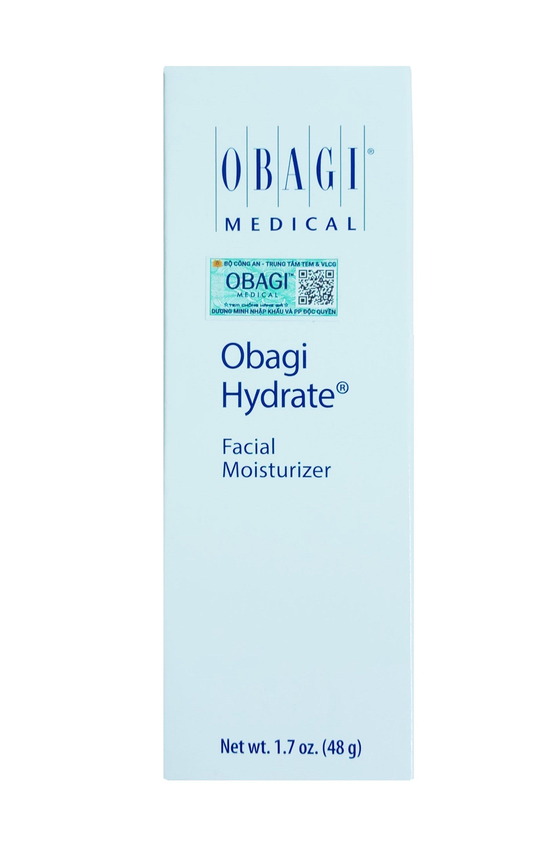 Kem dưỡng ẩm Obagi Hydrate Facial Moisturizer chính hãng mẫu mới