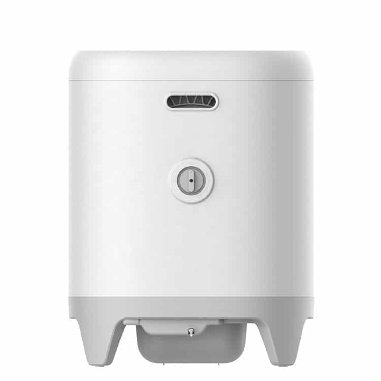 Mặt sau máy dọn vệ sinh tự động Petkit Pura X