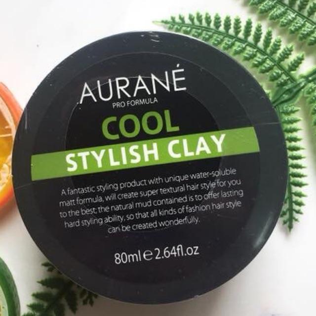 Sáp vuốt tóc Aurane Cool Stylish Clay tạo kiểu nhanh, giữ dáng lâu