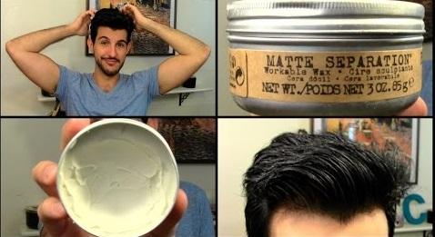 Sáp vuốt tóc nam Tigi Bed Head for Men Matte Separation giúp mang lại vẻ lịch lãm ngay tại nà