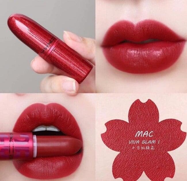 Son Mac Viva Glam lipstick