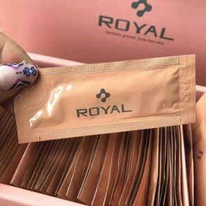Tinh chất serum nhau thai cuống rốn Royal Large Placenta Nhật Bản, hộp 90 gói