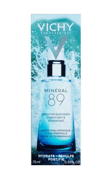 Vichy Mineral 89 75ml mặt sau