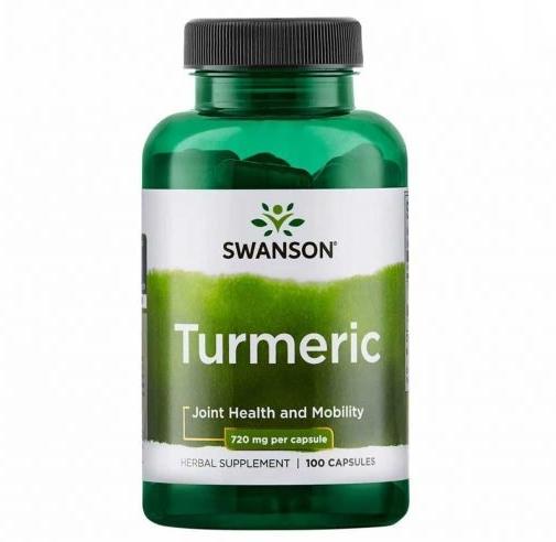 Viên tinh chất nghệ hỗ trợ dạ dày Swanson Turmeric 720mg Mỹ