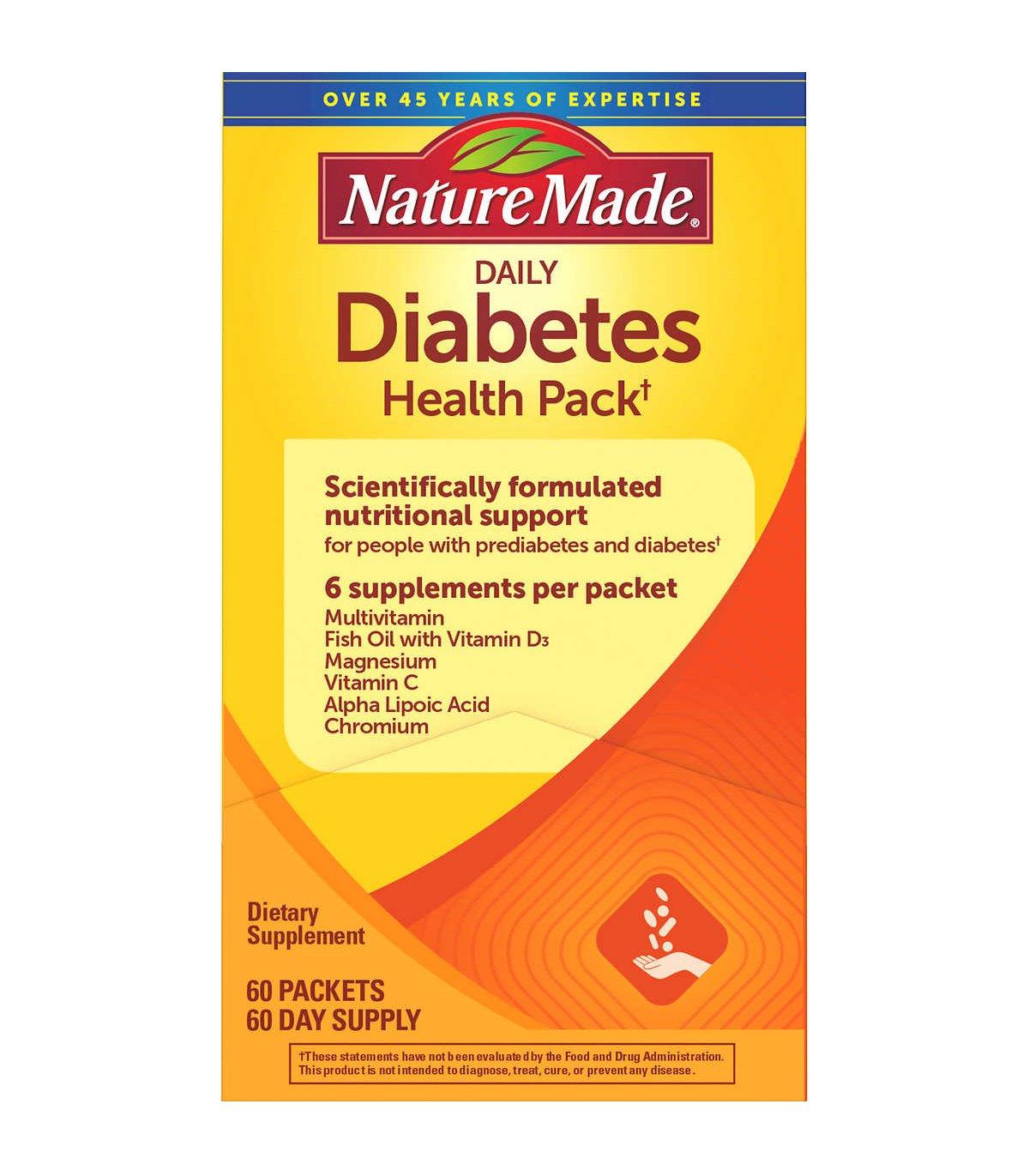 Diabetes health pack chính hãng của Mỹ mẫu mới