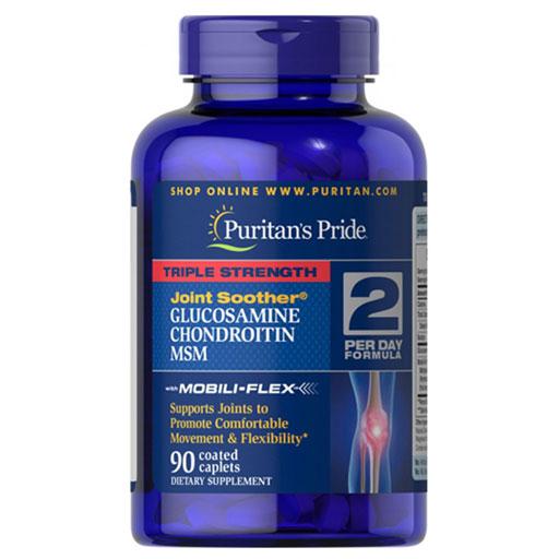 Viên bổ xương khớp Puritan's Pride Triple Strength Glucosamine