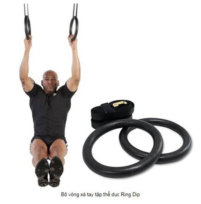 Bộ vòng tay tập xà Ring Dip hỗ trợ tập luyện săn chắc