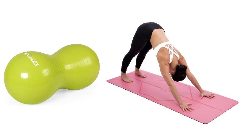 Bóng tập Yoga hình bầu dục MDBuddy MD12A32 hỗ trợ các bài tập tại nhà