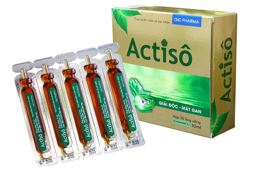 Cao Actisô DHG bảo vệ và duy trì sức khỏe gan