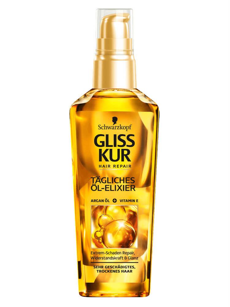 Dầu dưỡng tóc cho tóc khô, hư tổn Schwarzkopf Gliss Kur Đức, 75ml