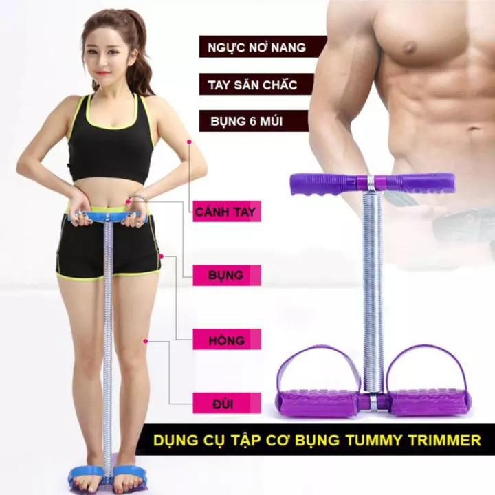 Dây kéo Tummy Trimmer hỗ trợ tập luyện săn chắc cơ thể