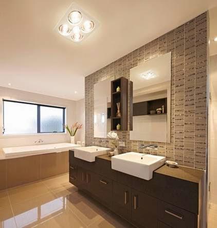 Đèn sưởi nhà tắm Heizen HE-4BR sử dụng cho không gian phòng tắm rộng