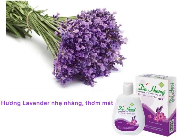 Dung dịch vệ sinh phụ nữ Dạ Hương Lavender làm sạch dịu nhẹ