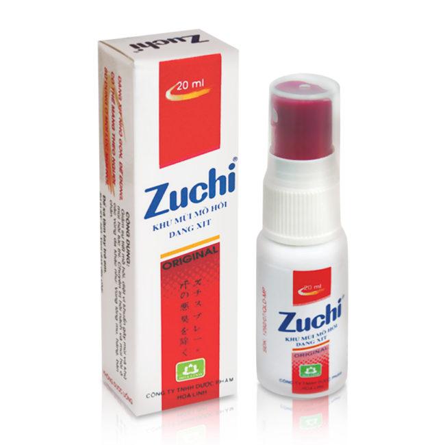Xịt khử mùi hôi Zuchi truyền thống.