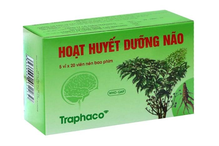 Hoạt huyết dưỡng não Traphaco