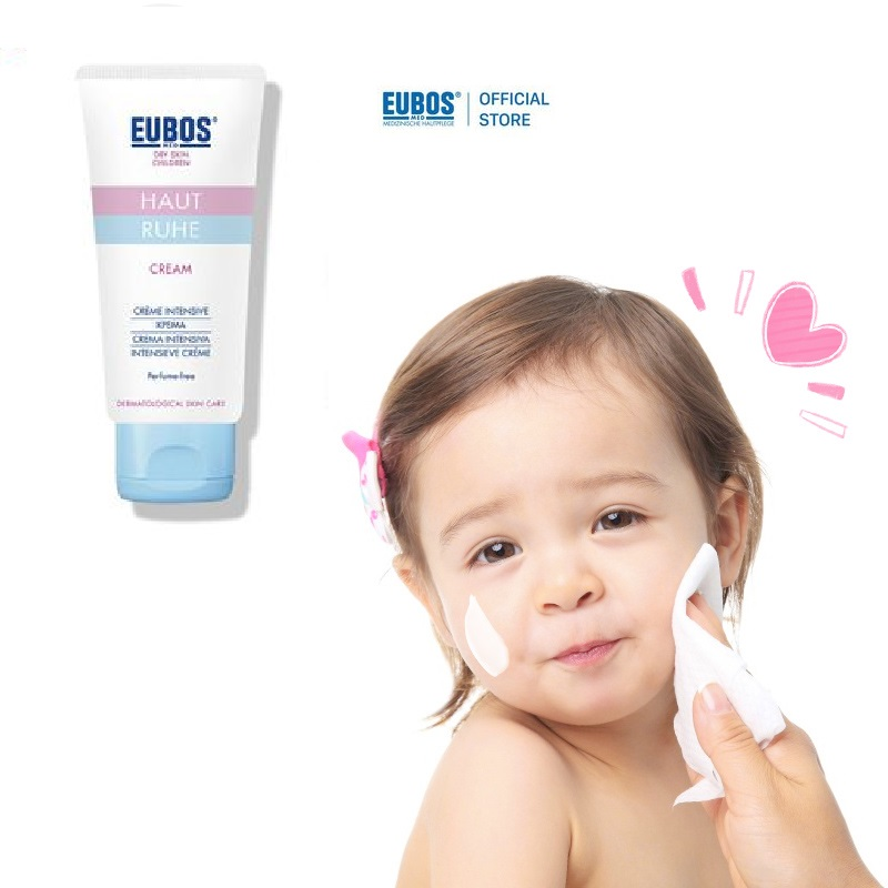 Kem dưỡng ẩm cho bé EUBOS Haut Ruhe chăm sóc da dịu nhẹ