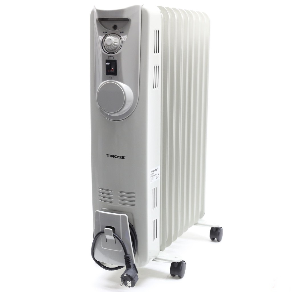 Máy sưởi dầu Tiross TS923 9 thanh nhiệt công suất 2200W
