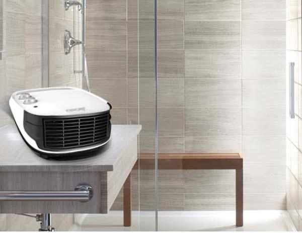 Máy sưởi Korihome dùng an toàn trong nhà tắm