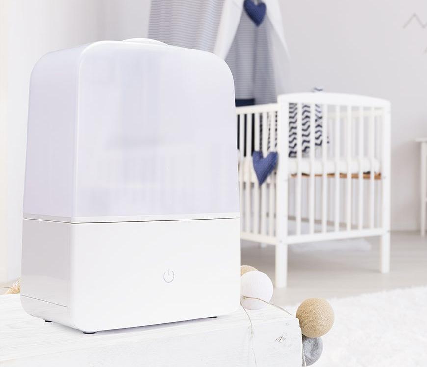 Máy tạo ẩm Lanaform LA120123 hỗ trợ tạo ẩm, bảo vệ sức khỏe cả gia đình