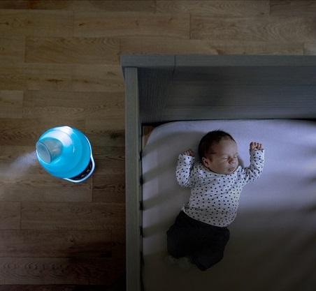 Thiết kế hỗ trợ cho bé ngủ ngon, hạn chế khô hanh