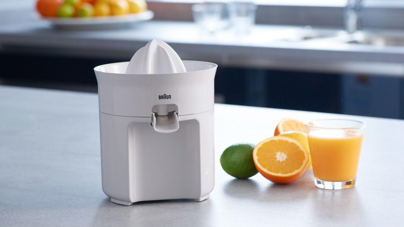 Máy vắt cam Braun CJ3050 cho chất lượng nước cam nguyên chất