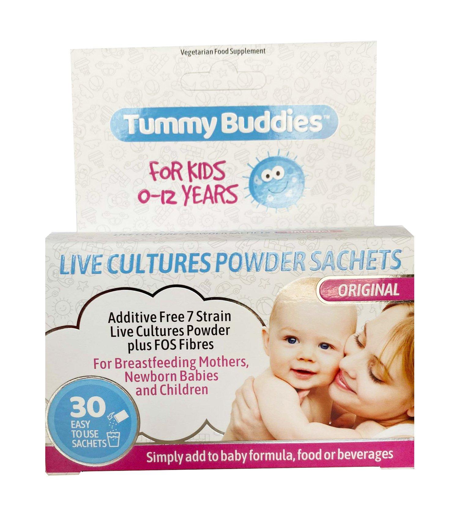 Men vi sinh Tummy Buddies chính hãng từ Anh mẫu mới