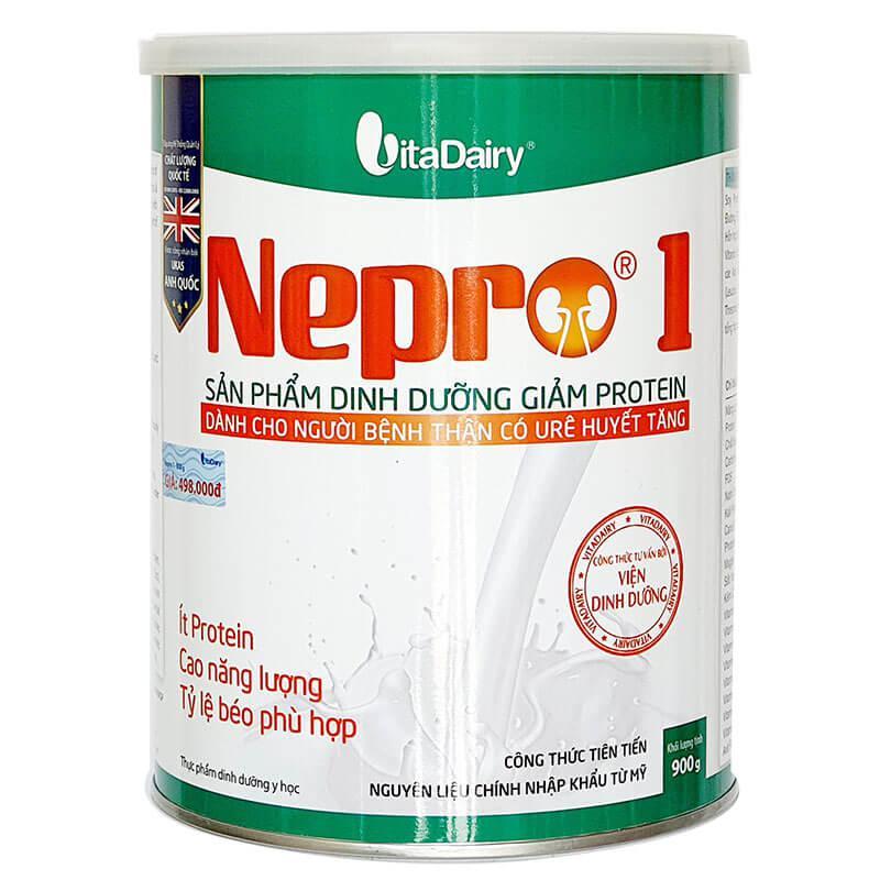 Sữa Nepro 1 bổ sung dinh dưỡng cho người bệnh thận