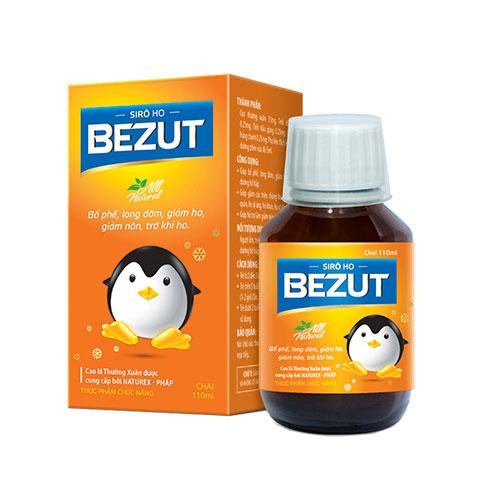 Siro Bezut hỗ trợ giảm ho cho cả gia đình