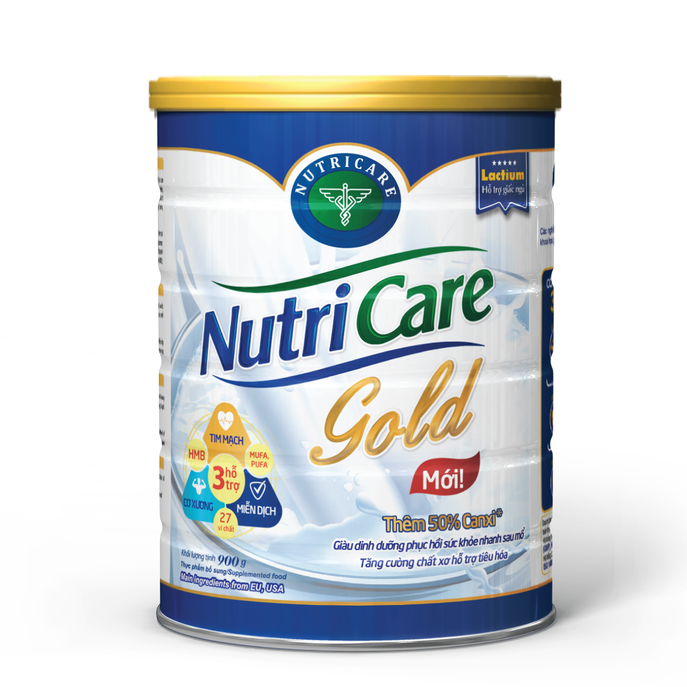 Sữa Nutricare Gold hộp 900g
