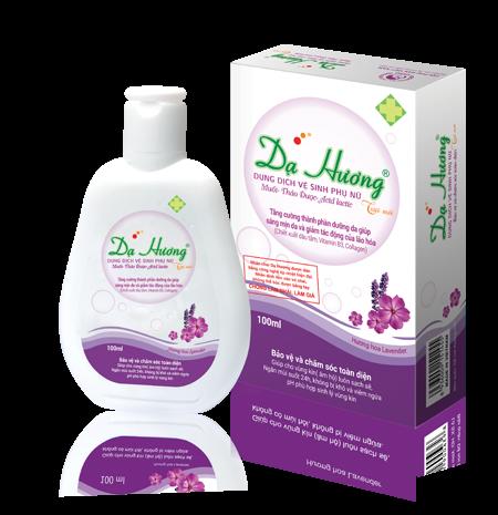 Dung dịch vệ sinh phụ nữ Dạ Hương Lavender
