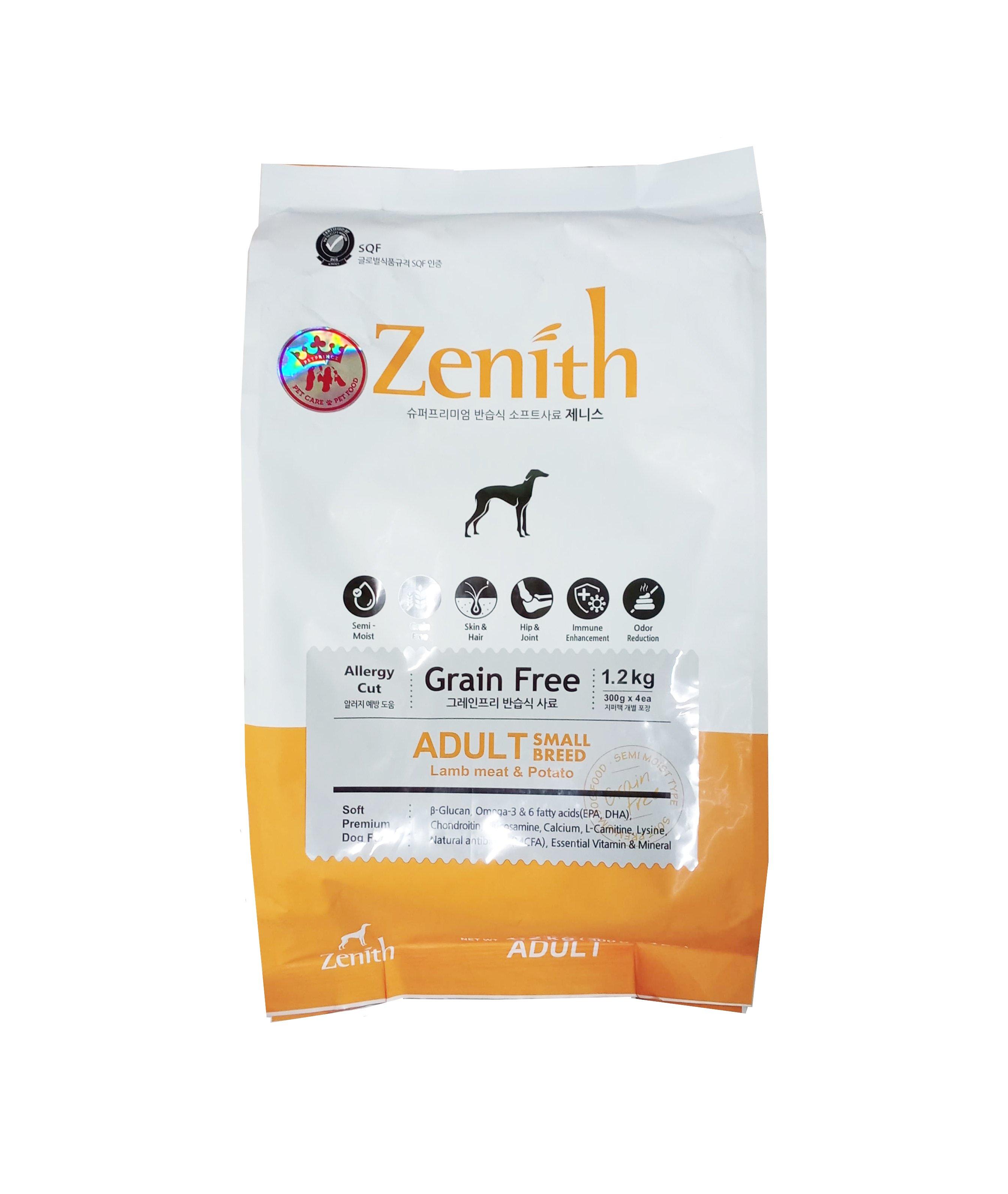 Thức ăn hạt Zenith chó nhỏ dưới 10kg mẫu mới