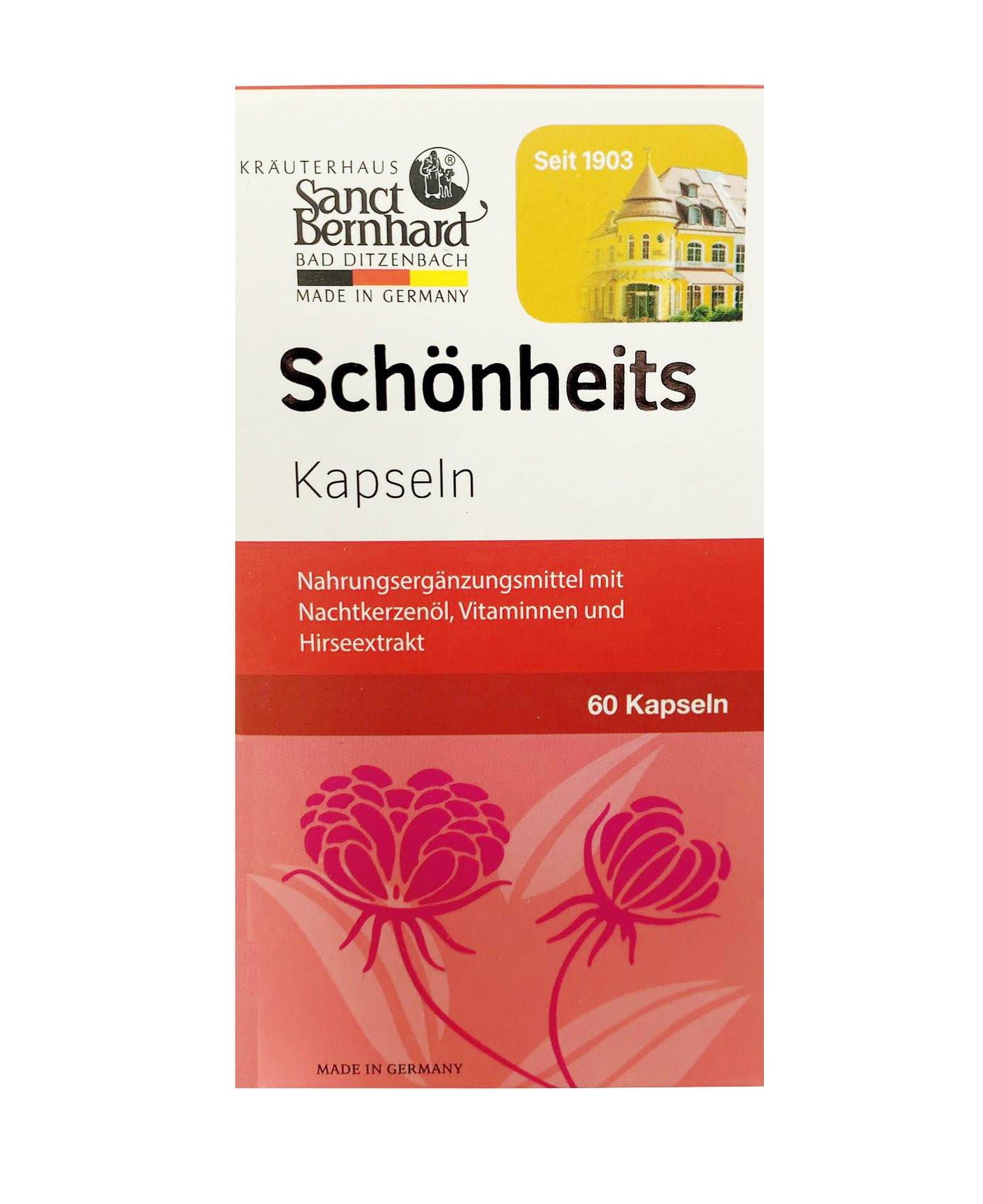 Dầu hoa anh thảo Schönheits Kapseln của Đức mẫu mới