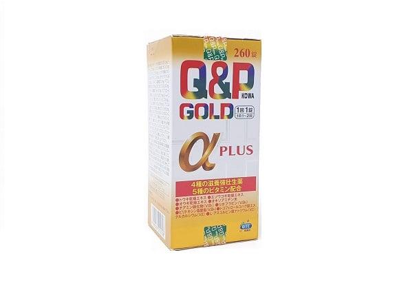 Viên uống hỗ trợ tăng sức đề kháng Q&P Gold Alpha Plus