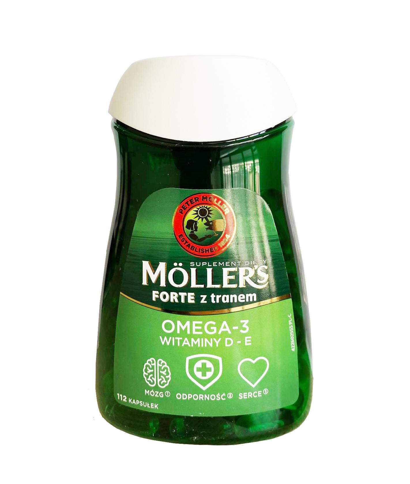 Omega-3 Moller's Dobbel - Bổ sung DHA và EPA mẫu mới