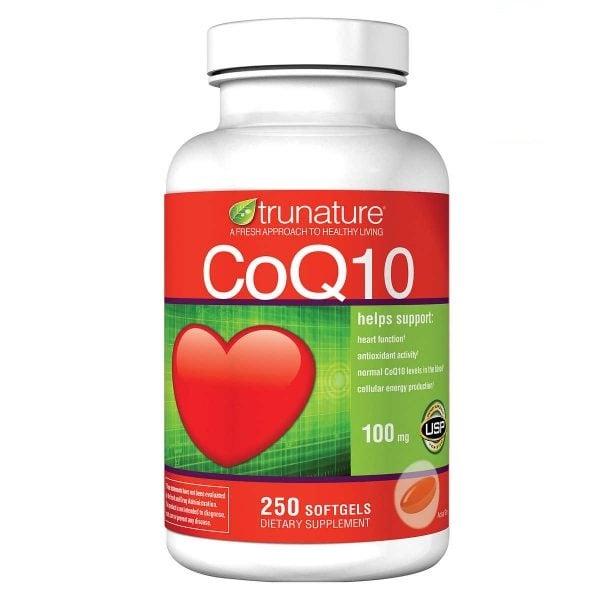 Viên uống hỗ trợ tim mạch Trunature Coq10